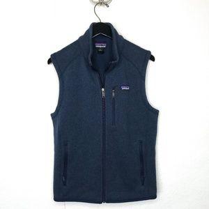 Patagonia Men's Navy Better Sweater Fleece Vest Sm